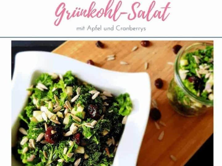 Massierter Grünkohlsalat Einfach Mal Einfach Grünkohl Salat
