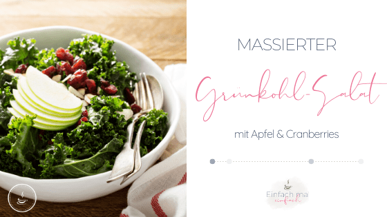 Massierter Grünkohl-Salat - Bild 1