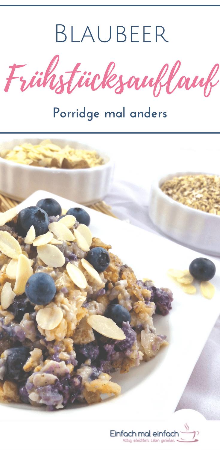 Blaubeer-Frühstücksauflauf - Porridge mal anders - Bild 3
