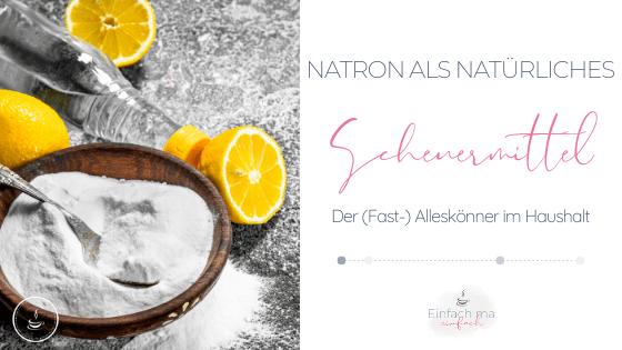 Natron als natürliches Scheuermittel - Bild 1