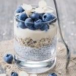 Chia Porridge mit Mandeln und Leinsamen - Bild 6