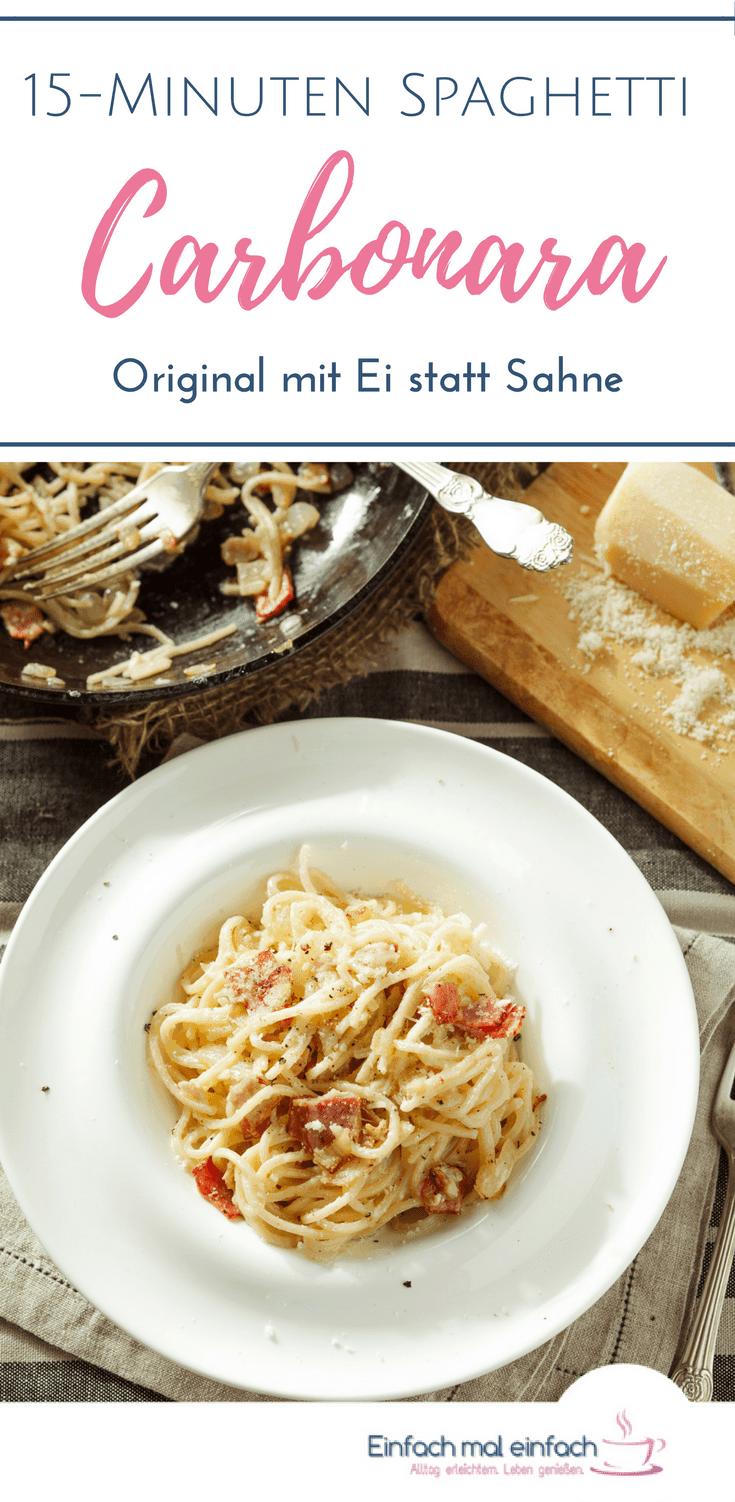 Original Spaghetti Carbonara in 15 Minuten - Bild 3
