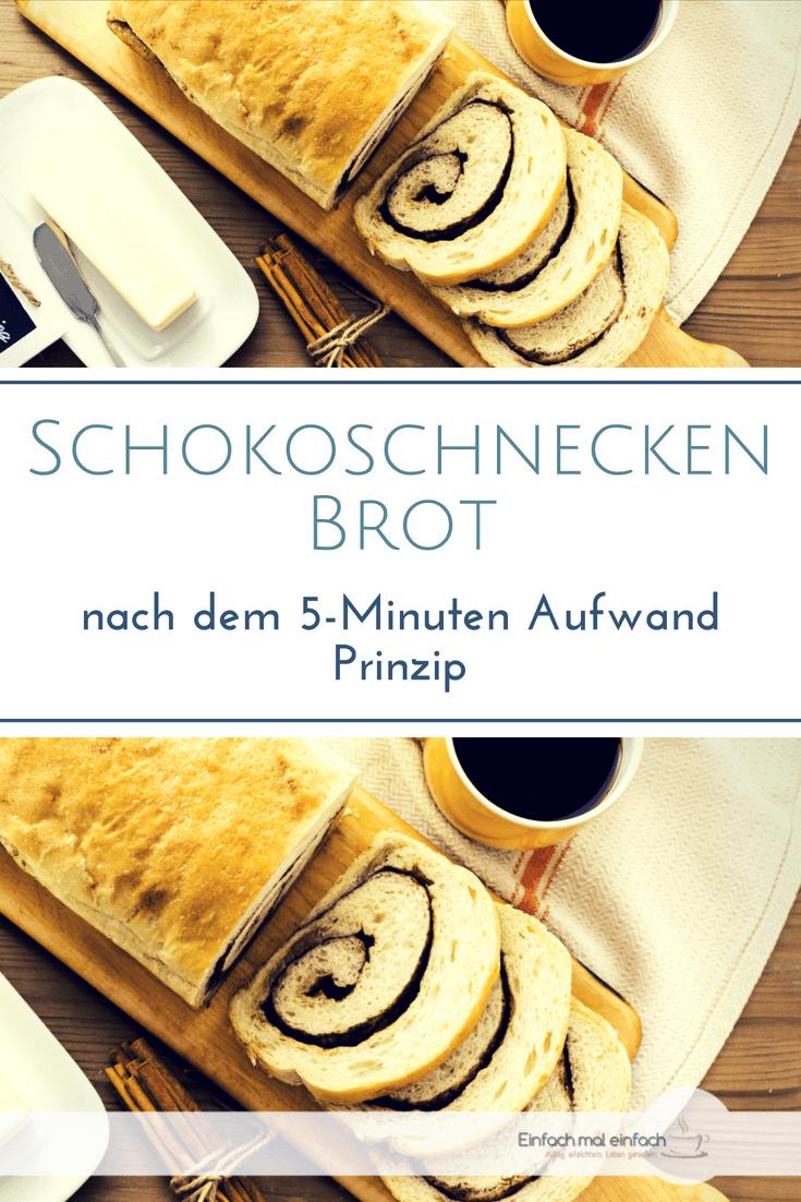 Schokoschnecken Brot - Bild 4