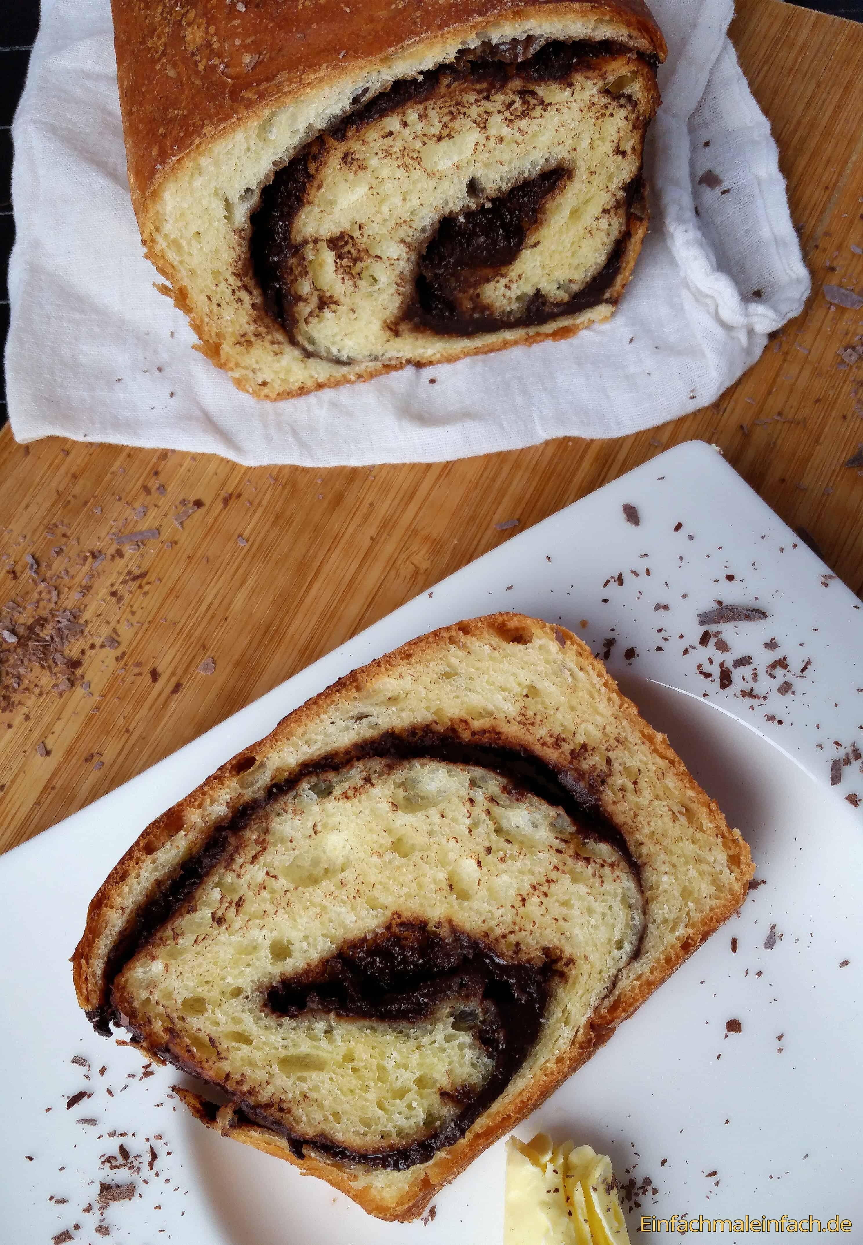 Schokoschnecken-Brot-Schokoschneckenbrot-Kühlschrankteig-einfach-fünf-minuten-aufwand-1