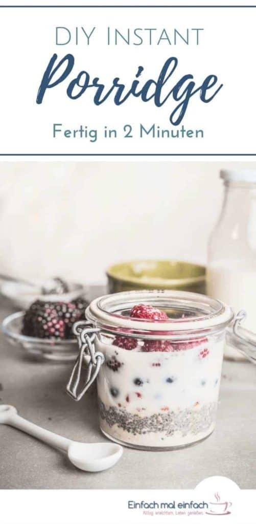 Instant Porridge selber machen - Bild 4