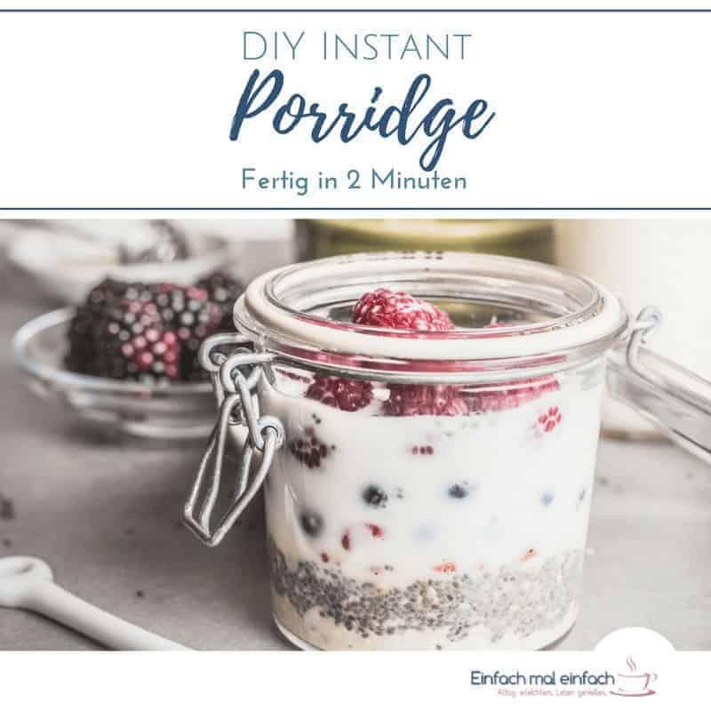 DIY Instant Porridge