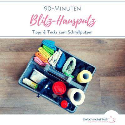 90-Minuten Blitz-Hausputz – Tipps & Tricks zum Schnellputzen