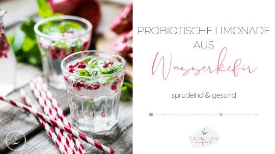 Probiotische Limonade aus Wasserkefir - Bild 1