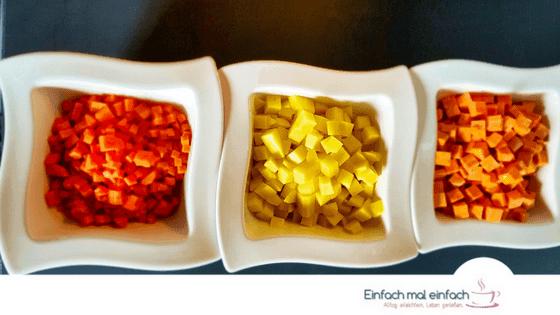 Kartoffel-Gemüse-Pfanne mit Beluga Linsen - Bild 3