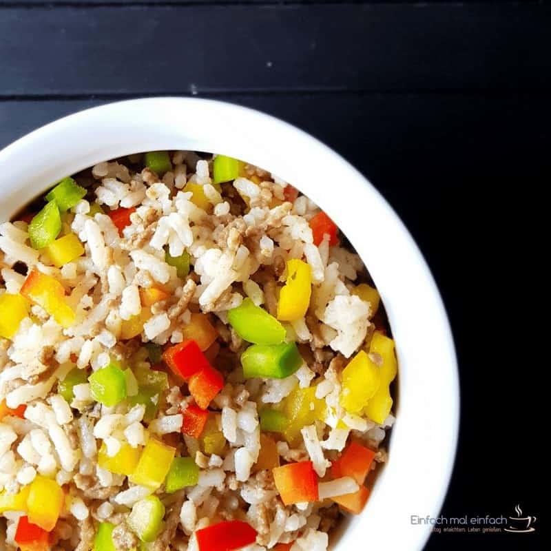 Hackfleisch-Reispfanne in drei Varianten - Bild 3