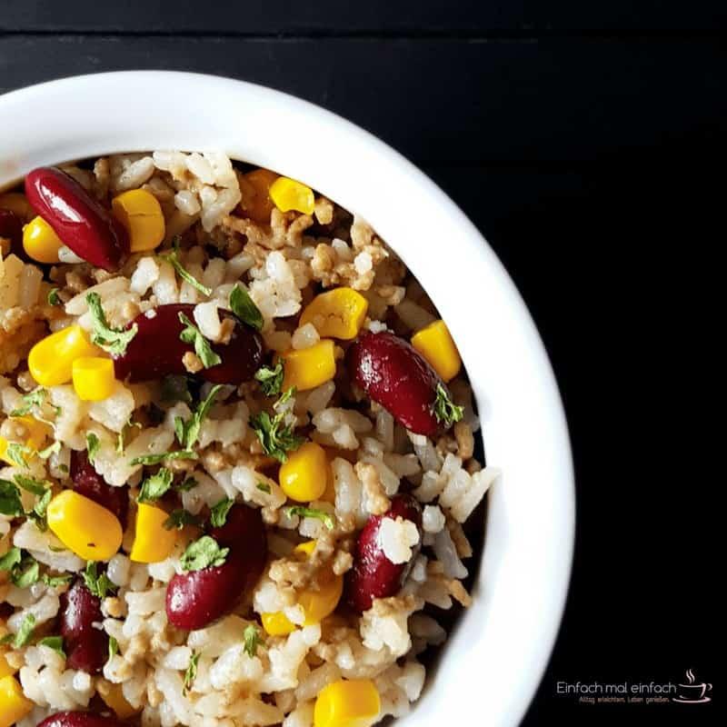 Hackfleisch-Reispfanne in drei Varianten - Bild 4