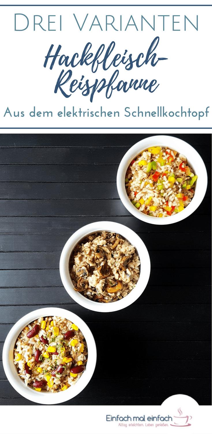 Hackfleisch-Reispfanne in drei Varianten - Bild 7