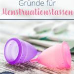 Menstruationstassen und Tampons