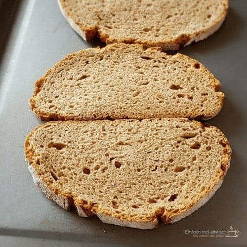 Irischer Käsetoast - Verwendung für altes Brot - Bild 3