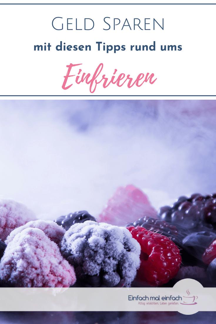 Mit diesen Tipps rund ums Einfrieren schaffst Du Dir nicht nur einen Vorrat an Obst, Beeren, Parmesan oder Zwiebeln, sondern sparst im Alltag Zeit, Nerven und Geld. #vorrat #haltbarmachen #einfrieren #beeren #käse #tipps #tippsundtricks #zwiebeln #parmesan