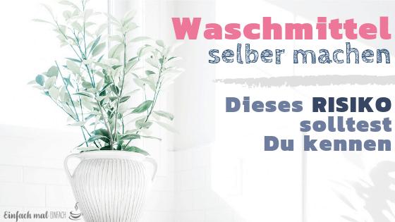 Waschmittel selber machen: Dieses Risiko musst Du kennen - Bild 3