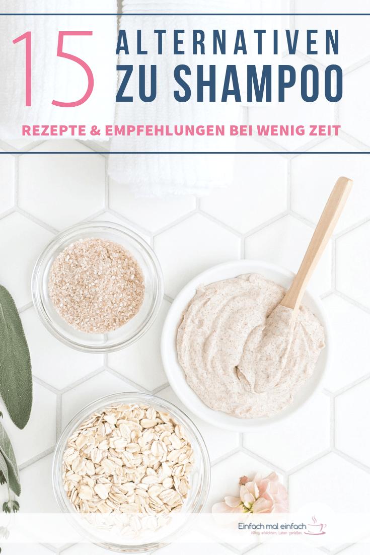 15 Alternativen zu Shampoo - auch bei wenig Zeit - Bild 8