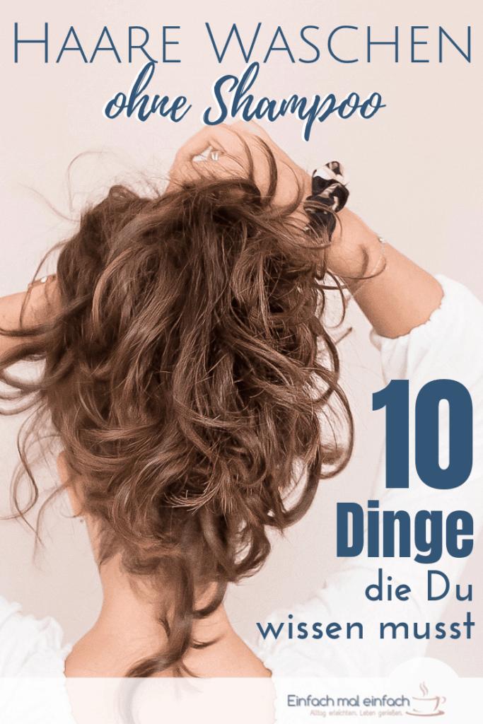 Haare waschen ohne Shampoo - 10 Tipps - Bild 4