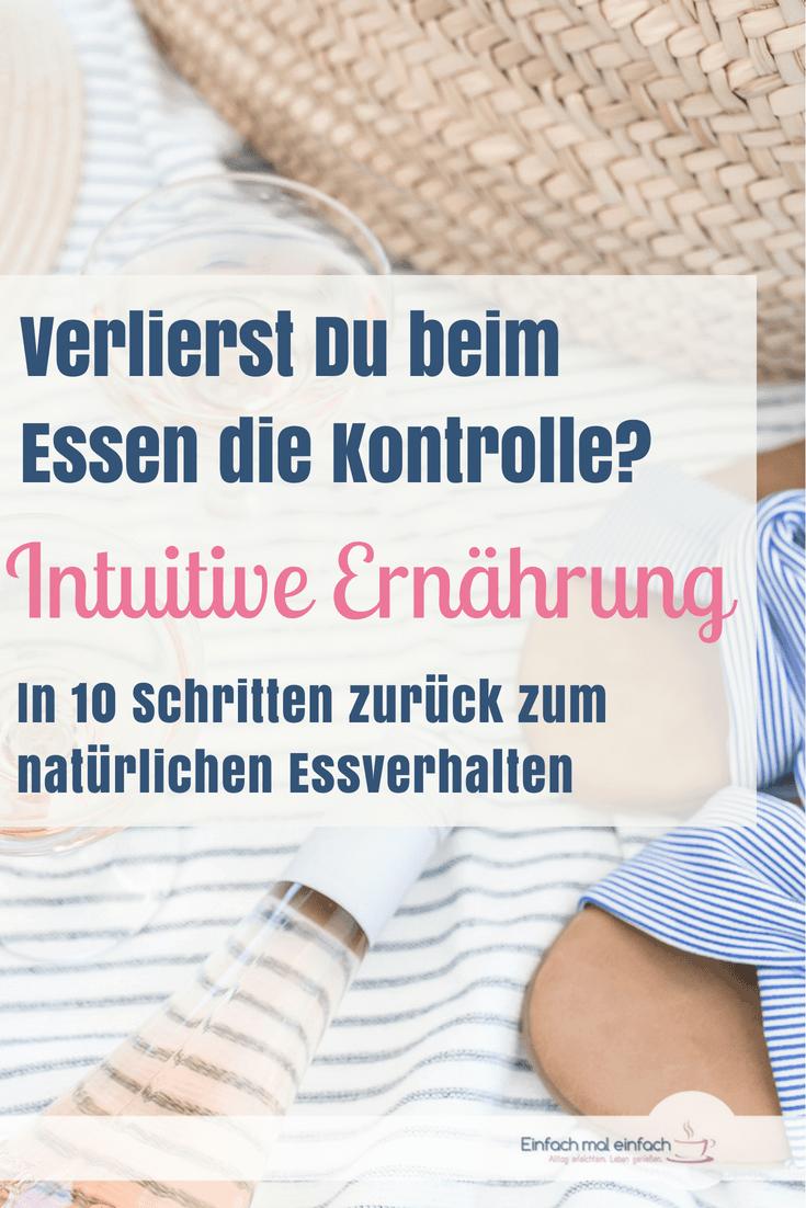 Intuitiv Essen heißt, auf die natürlichen Signale des Körpers zu hören, statt Diäten und Ernährungsregeln zu folgen. Damit wird der Hauptauslöser für Essanfälle bekämpft. Wie das geht und warum Du auch intuitiv abnehmen kannst, das erfährst Du hier. #intuitivessen #intuitiv #ernährung #keinediät #essanfälle #bingeeating #gesundeernährung #intuitivessen #natürlich #natürlich essen