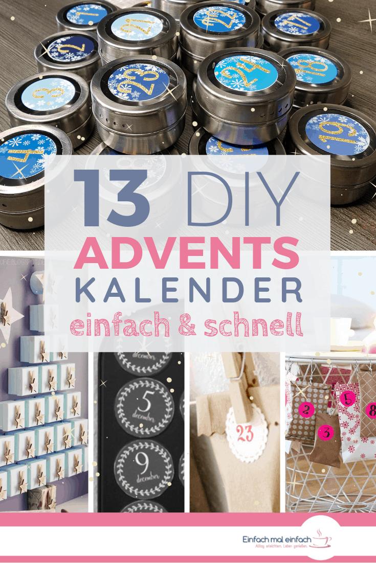 13 Adventskalender - einfach & schnell - Bild 8