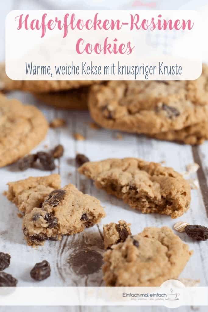 Haferflocken-Rosinen Cookies - Bild 4