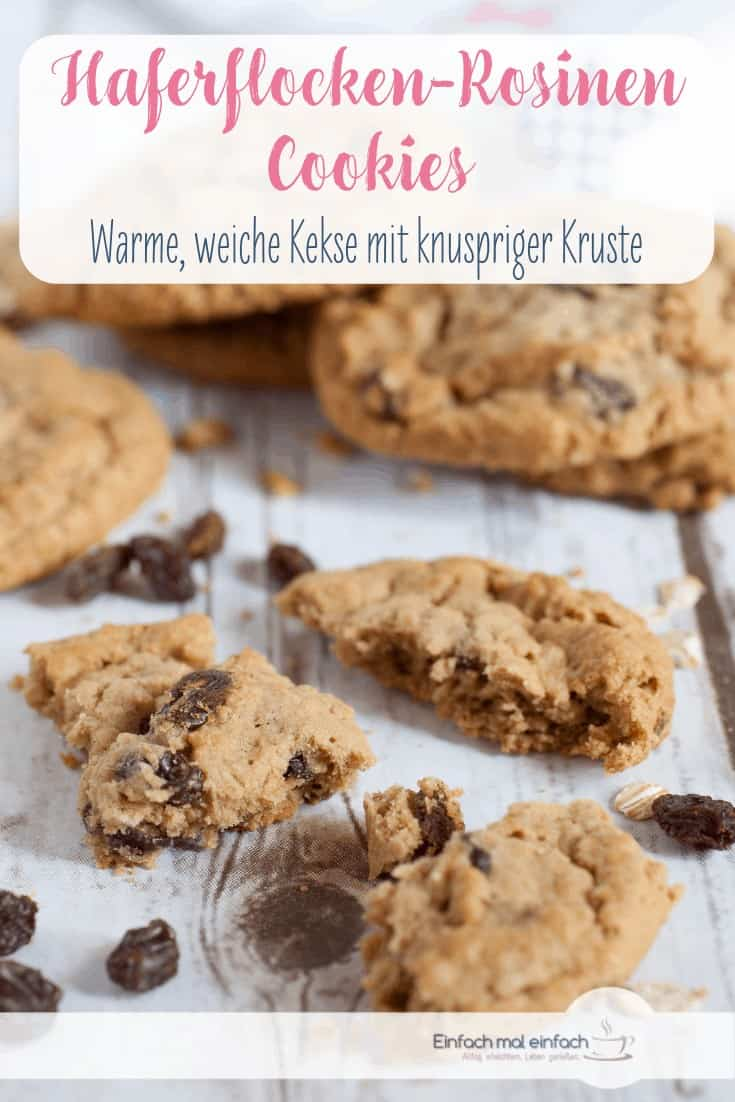 Haferflocken-Rosinen Cookies - Bild 5