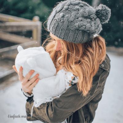 3 Praktische Tipps zum Babytragen im Winter