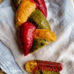 Buntes Brot mit Gemüse - Bild 5