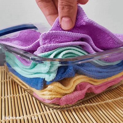 Feuchttücher selber machen – zum Putzen oder für Babys