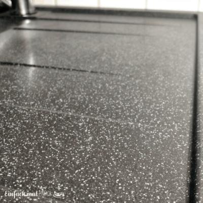 Granitspüle fleckenfrei reinigen