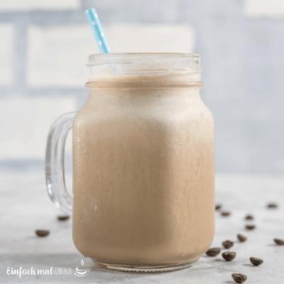 Kaffee-Smoothie für Energie und Schönheit