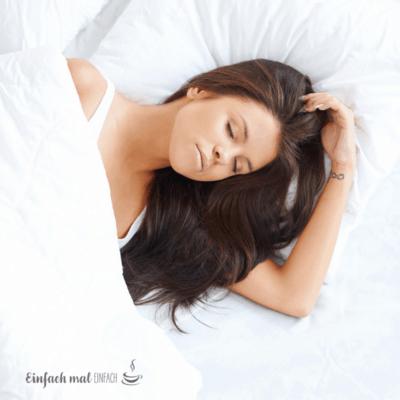 3 Praktische Tipps, wie Du sofort besser schlafen kannst