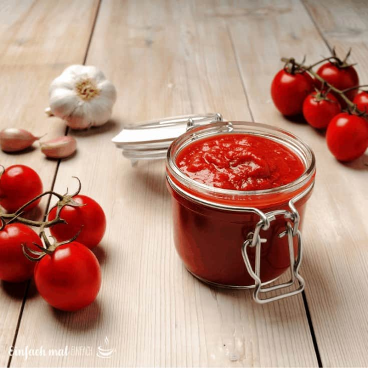 Schnelle Tomatensoße