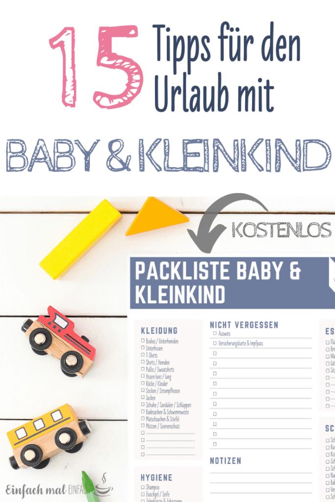Entspannter Urlaub mit Baby & Kleinkind: 15 Tipps - Bild 7