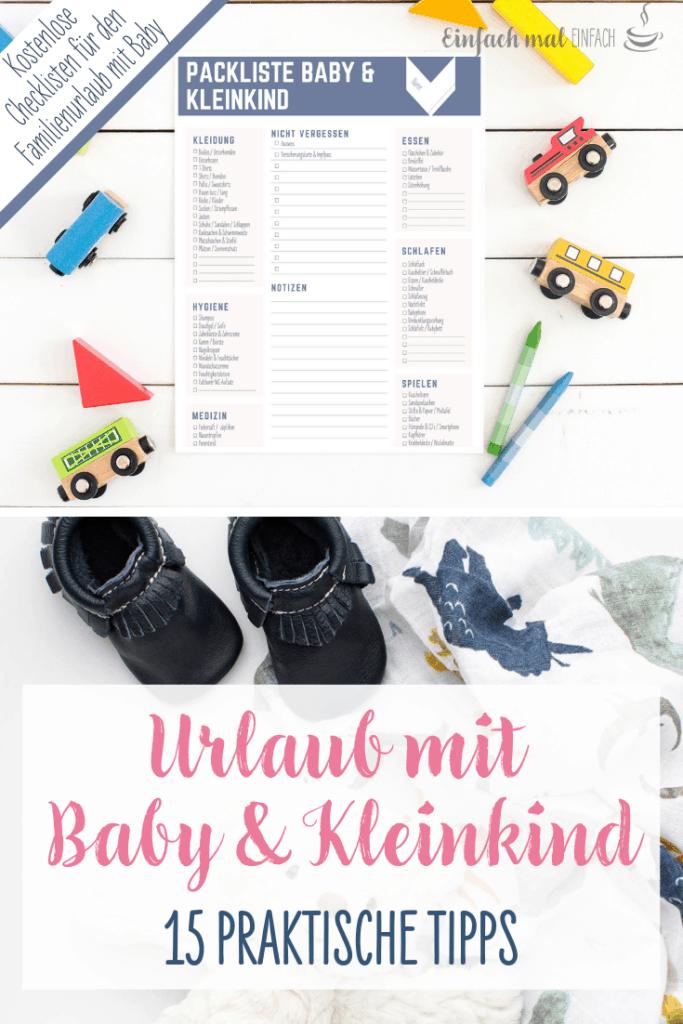 Entspannter Urlaub mit Baby & Kleinkind: 15 Tipps - Bild 9