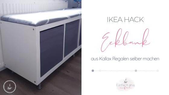 IKEA Eckbank aus Kallax Regalen bauen - Bild 1