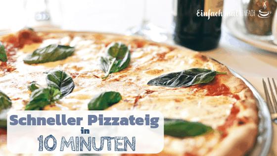 Schneller Pizzateig in 10 Minuten - Bild 3
