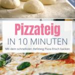 Schneller Pizzateig in 10 Minuten - Bild 1