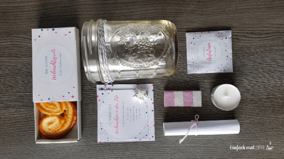 Geschenkideen für die Freundin - im Glas verpackt - Bild 3