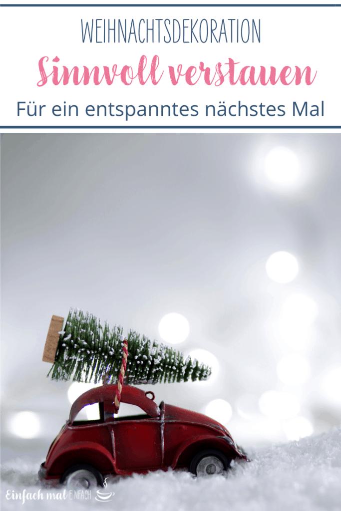 Weihnachtsdekoration sinnvoll verstauen - Bild 3