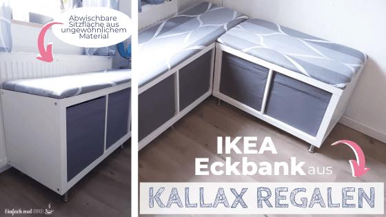 IKEA Eckbank aus Kallax Regalen bauen - Bild 3