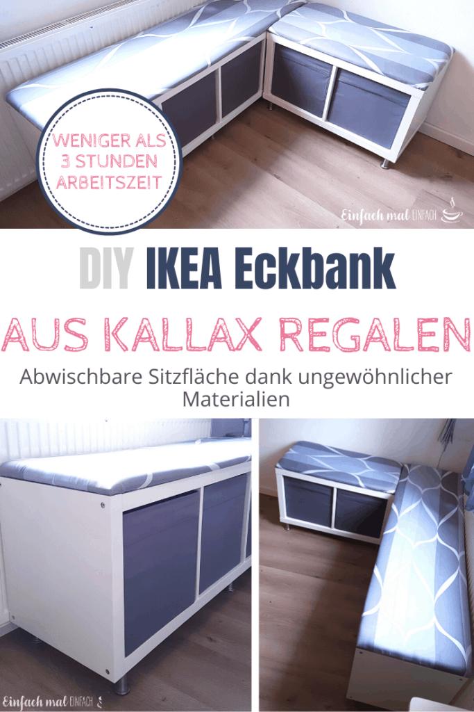 IKEA Eckbank aus Kallax Regalen bauen - Bild 7