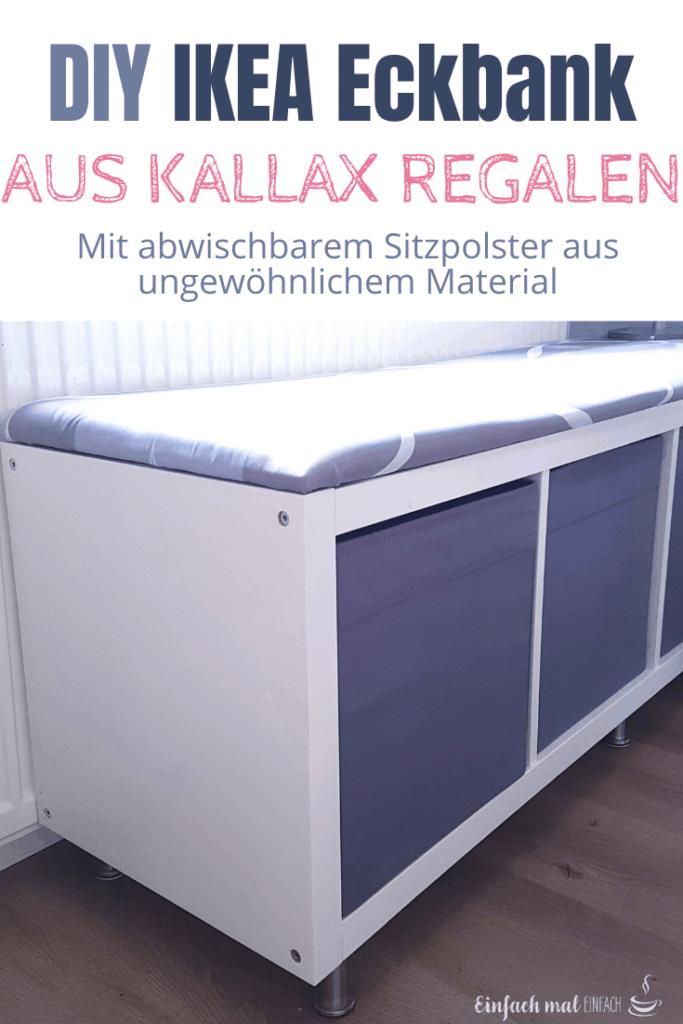 IKEA Eckbank aus Kallax Regalen bauen - Bild 8