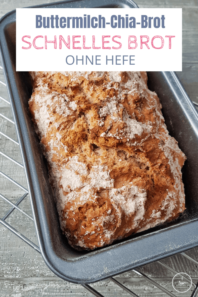 Schnelles Brot ohne Hefe: Buttermilch-Chia-Brot - Bild 8