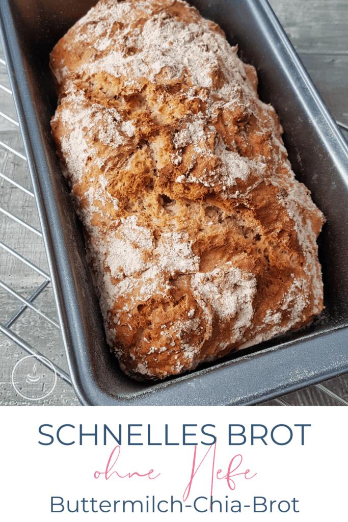 Schnelles Brot ohne Hefe: Buttermilch-Chia-Brot - Bild 6